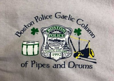 Boston Police Gaelic Column